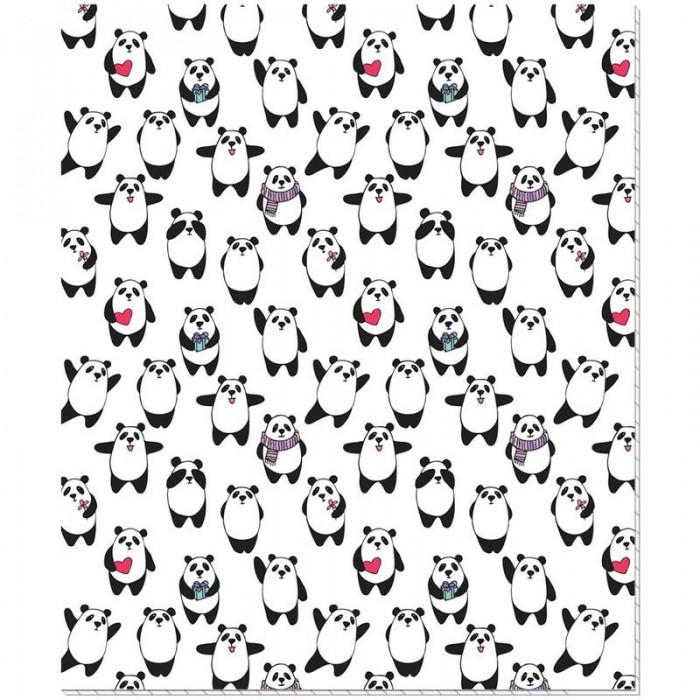 Тетради №1 School Тетрадь общая Pandas клетка A5 (48 листов)