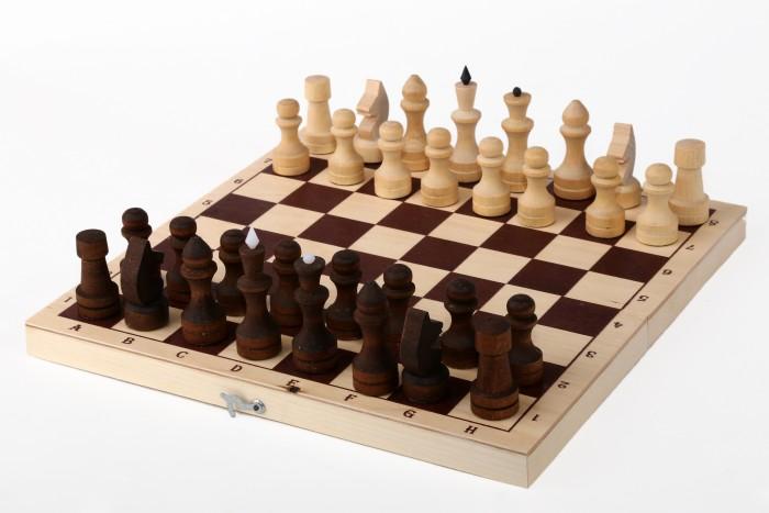 Настольные игры Орловская Ладья Ладья Шахматы обиходные парафинированные 29х14.5 см