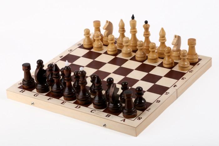 Настольные игры Орловская Ладья Шахматы турнирные с доской 40х20 см