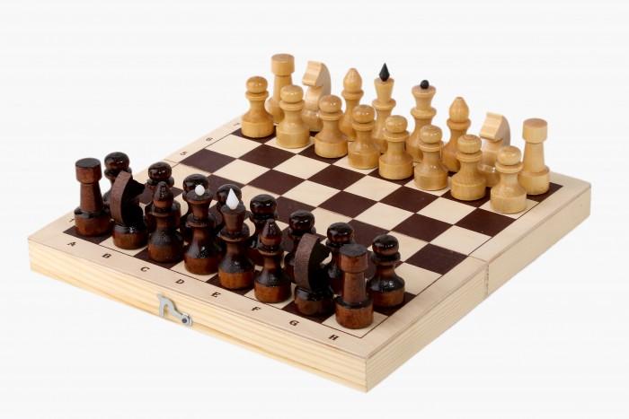 Настольные игры Орловская Ладья Шахматы походные 23х11.5 см