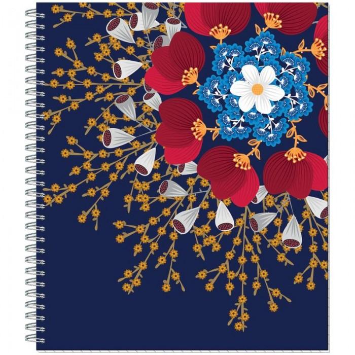 Тетради №1 School Тетрадь общая Flower Fantasy клетка А5 (80 листов)