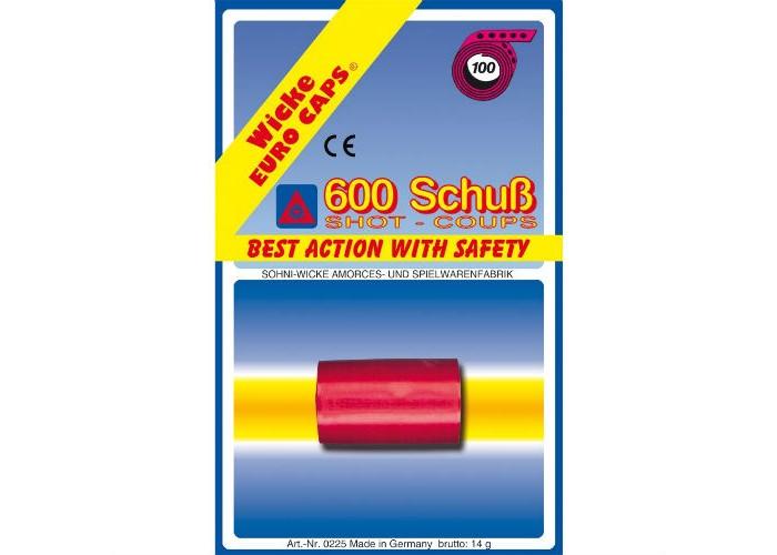 Игрушечное оружие Sohni-wicke Игрушечные 100-зарядные пистоны 600 шт. 100 зарядные пистоны 600 шт sohni wicke