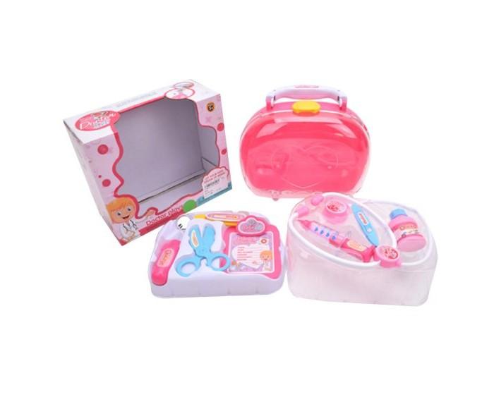 Купить Ролевые игры, Наша Игрушка Игровой набор Доктор в чемоданчике (8 предметов) YH-8522A