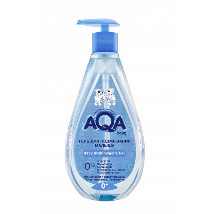 Косметика для новорожденных AQA baby Гель для подмывания малыша 400 мл недорого
