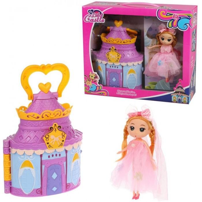 Купить Кукольные домики и мебель, Наша Игрушка Игровой набор Кукольный домик (15 предметов)