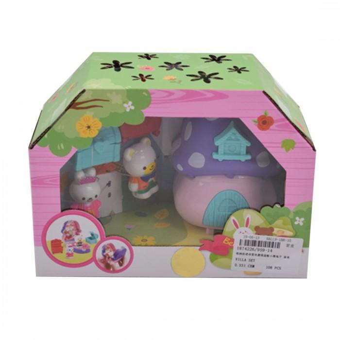 Кукольные домики и мебель Наша Игрушка Игровой набор Кукольный домик (5 предметов)