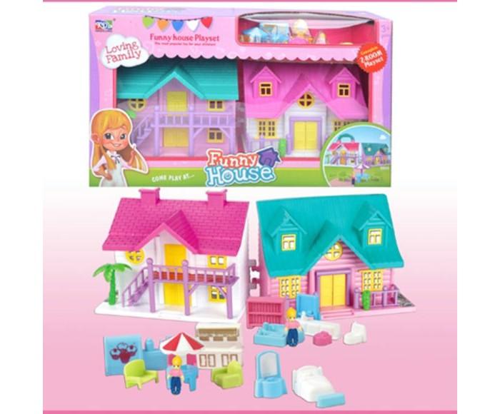 Кукольные домики и мебель Наша Игрушка Игровой набор Кукольный домик (12 предметов)