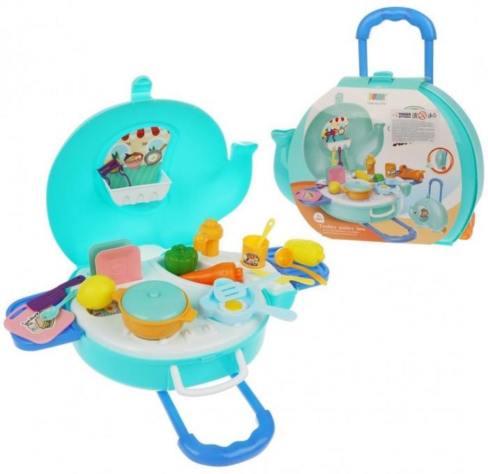 Фото - Ролевые игры Наша Игрушка Игровой набор Кухня в чемоданчике (27 предметов) кухня виктория 3000