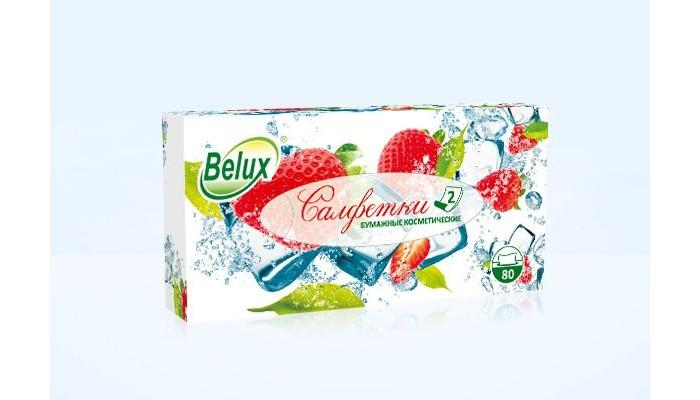 Салфетки Belux косметические 2-х слойные 80 листов