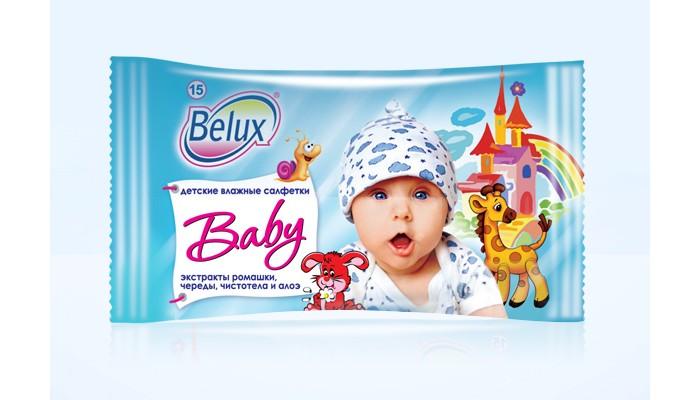Салфетки Belux Детские салфетки влажные 15 шт.