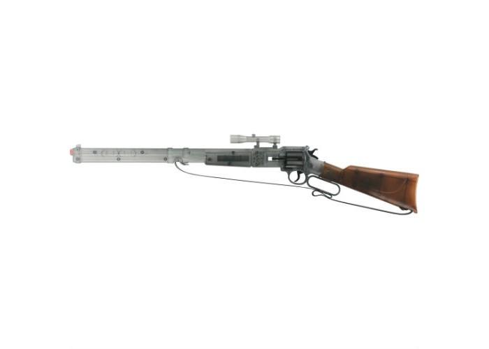 Sohni-wicke Игрушечное оружие Винтовка Utah Агент 12-зарядные Rifle 756mmИгрушечное оружие Винтовка Utah Агент 12-зарядные Rifle 756mmИгрушечное оружие Sohni-wicke Винтовка Utah АГЕНТ 12-зарядные Rifle 756mm   Шикарная полупрозрачная винтовка Utah Агент поможет вашему ребенку почувствовать себя грозой местных преступников и настоящим героем. Мощное оружие и природная смекалка — все, что нужно начинающему ковбою!  Sohni-Wicke — это лучшее детское оружие от европейского производителя. Вся продукция компании выполнена из безопасных, экологичных, нетоксичных и качественных материалов. Обязательно ознакомьтесь с инструкцией и соблюдайте меры безопасности.  Пистоны необходимо приобретать отдельно.<br>