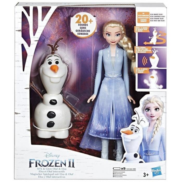 Интерактивная игрушка Hasbro Холодное сердце 2 Эльза и Олаф