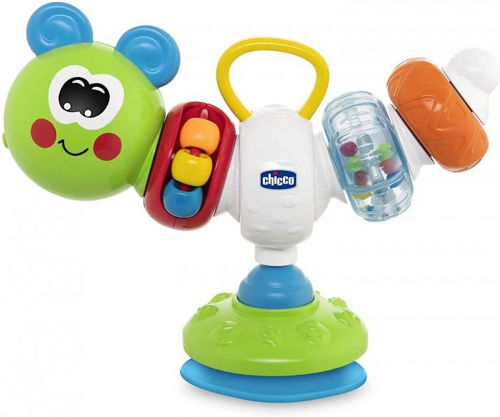 Купить Развивающие игрушки, Развивающая игрушка Chicco для стульчика для кормления Гусеница