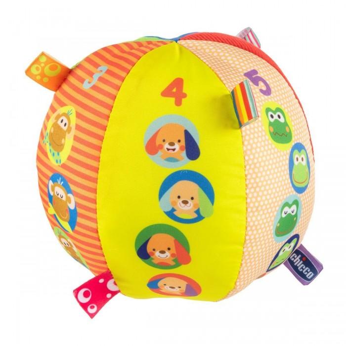 Купить Развивающие игрушки, Развивающая игрушка Chicco Музыкальный мячик мягкий