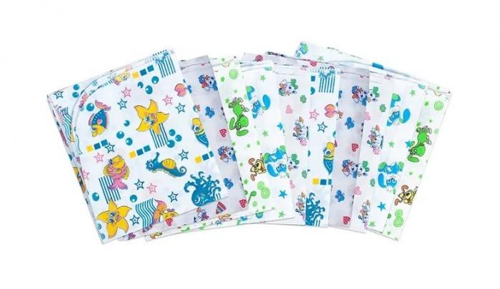 Пеленка Чудо-чадо для новорожденных ситцевая Ассорти 10 шт.