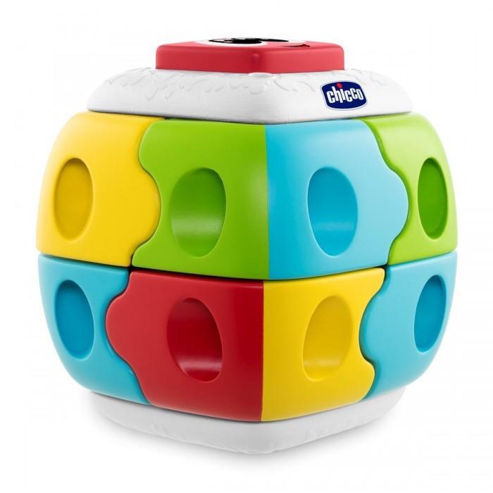 Картинка для Развивающие игрушки Chicco Конструктор 2 в 1 Куб