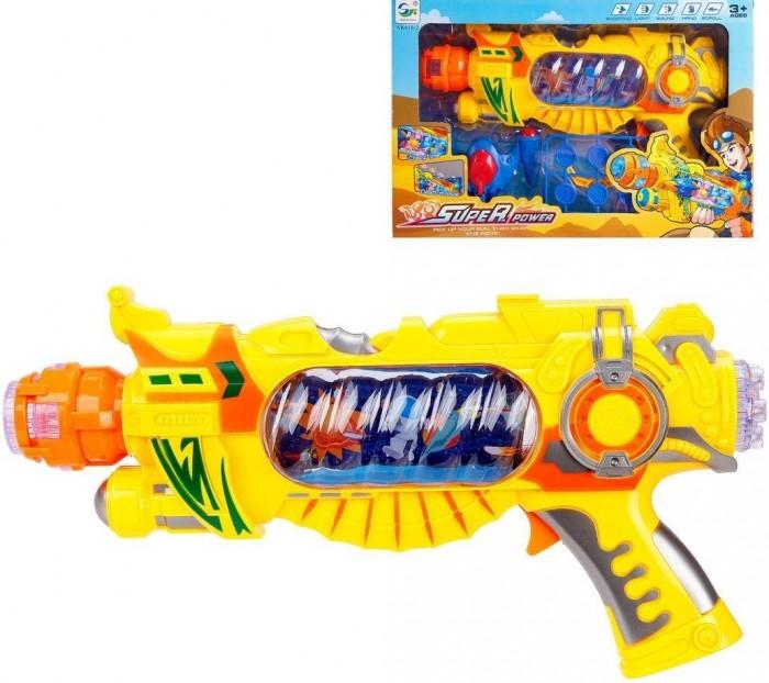 Купить Игрушечное оружие, Наша Игрушка Бластер электрифицированный AK618-2