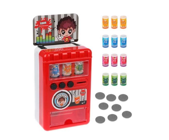 Ролевые игры Наша Игрушка Игровой набор Продукты Вендинговый аппарат (23 предмета)