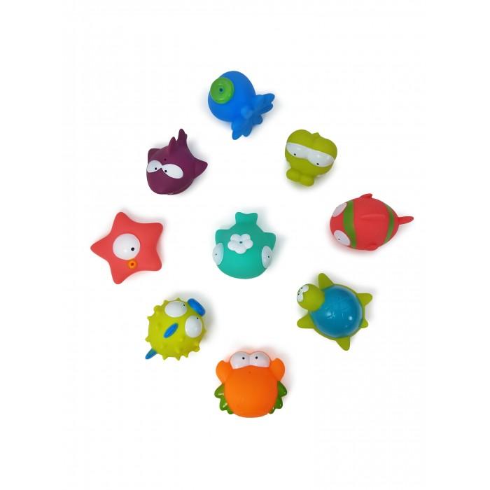 Игрушки для ванны ЯиГрушка Игрушка для ванной Морские животные 9 шт. набор мини ковриков для ванной крошка я морские животные 3253273 разноцветный 2 шт