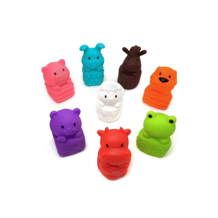 Купить Игрушки для ванны, ЯиГрушка Набор игрушек для ванной Милые животные 8 шт.
