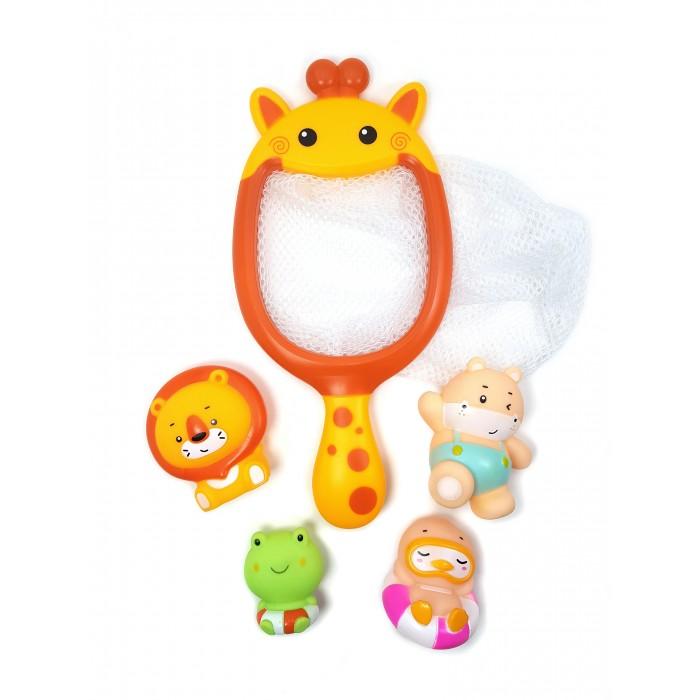 Игрушки для ванны ЯиГрушка Набор игрушек для ванной Сачок-Жираф набор для чистки бассейна intex 29057 от 549см сачок щетка вакуумная насадка