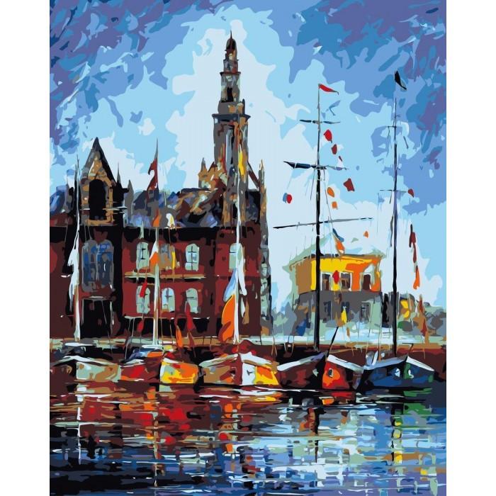 Картины по номерам Артвентура Роспись по холсту Антверпен Бельгия 40х50 см