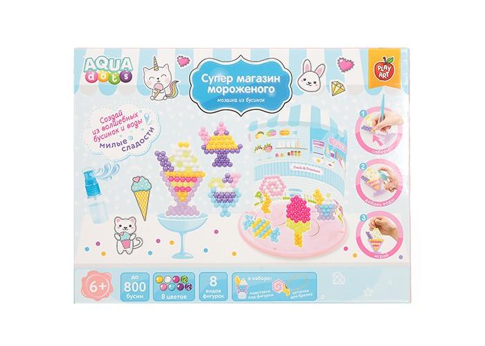 Купить Наборы для творчества, PLAY ART AQUA dots Набор для творчества Супер магазин мороженого