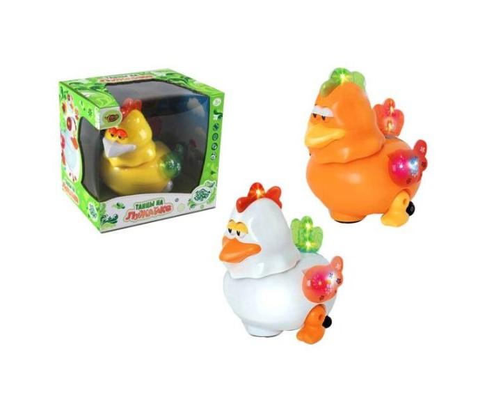 Развивающие игрушки Наша Игрушка Петушок со световыми и звуковыми эффектами каталка игрушка умка лошадка b876678 r со звуковыми эффектами желтый