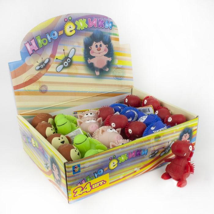 Развивающие игрушки 1 Toy Нью-Ёжики Игрушка-антистресс Животные 7.5 см