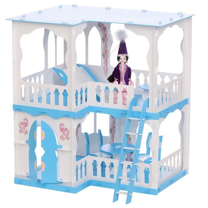 Картинка для Кукольные домики и мебель Krasatoys Домик для кукол Алсу с мебелью