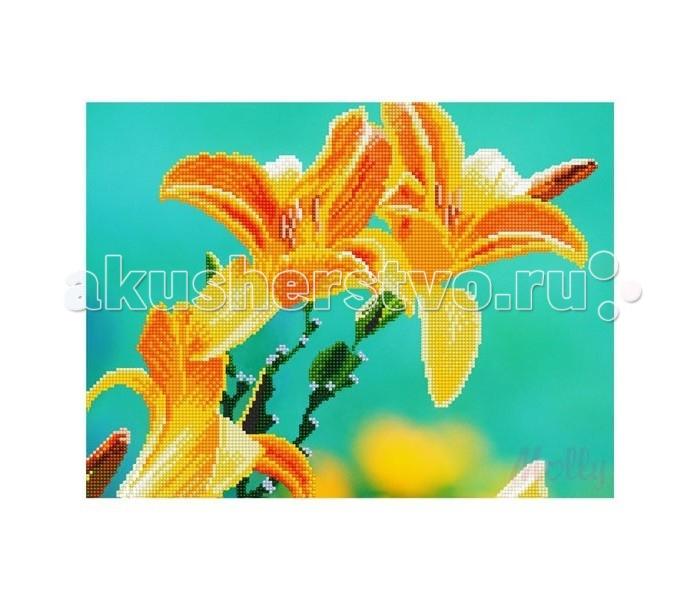 Творчество и хобби , Картины своими руками Molly Мозаичная картина Лилии 30х40 см арт: 90414 -  Картины своими руками