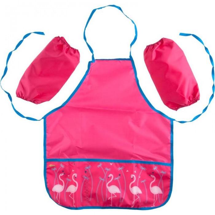 Детские фартуки №1 School Фартук для труда Flamingo с нарукавниками