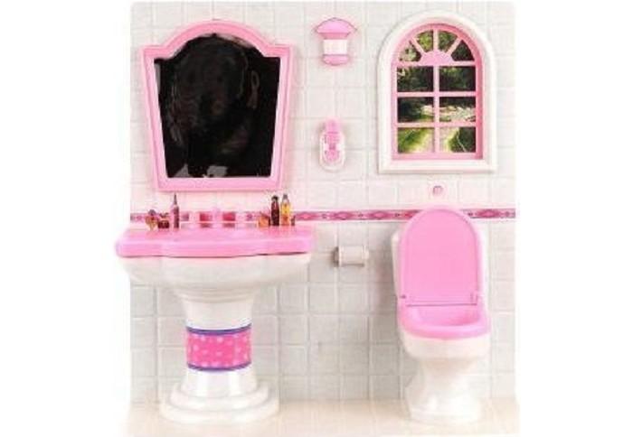 Купить Кукольные домики и мебель, Наша Игрушка Ванная комната 100328638