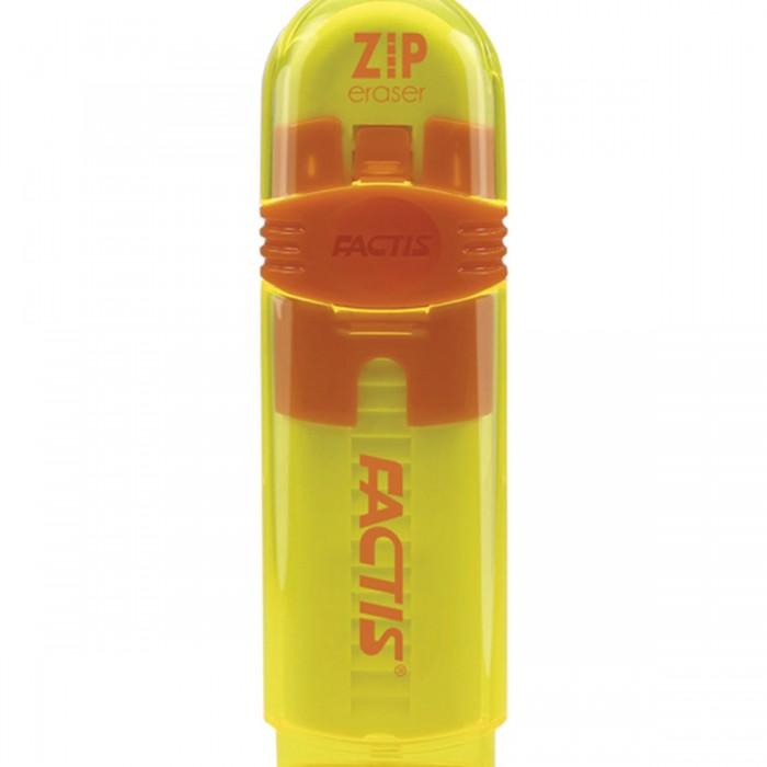 Канцелярия Factis Zip Ластик выдвижной 80x10x10 мм