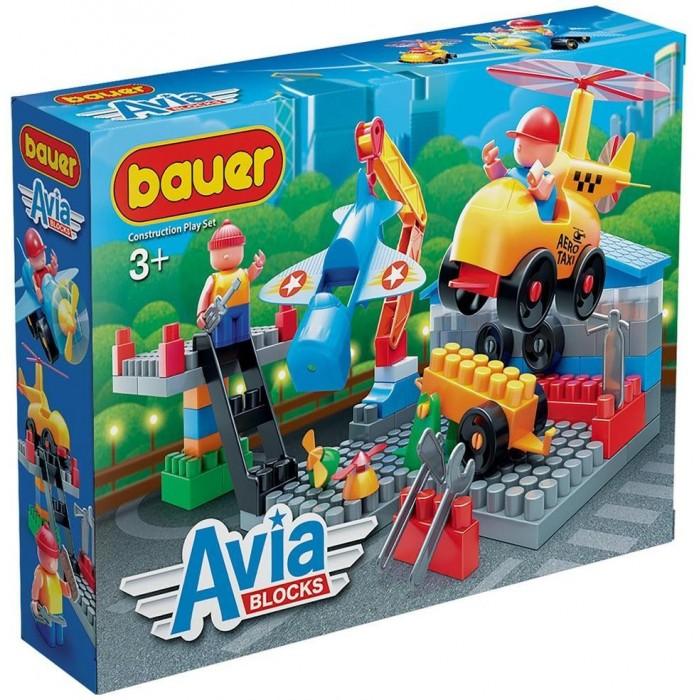 Купить Конструкторы, Конструктор Bauer Avia Сервис (89 элементов)