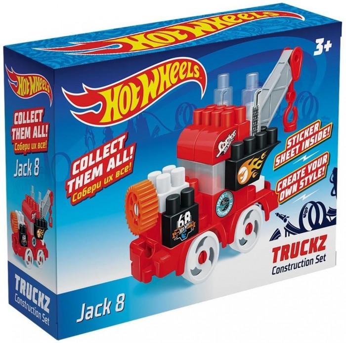 Конструкторы Hot Wheels Truckz Jack (28 элементов) лев раскраска с наклейками 2005 hot wheels