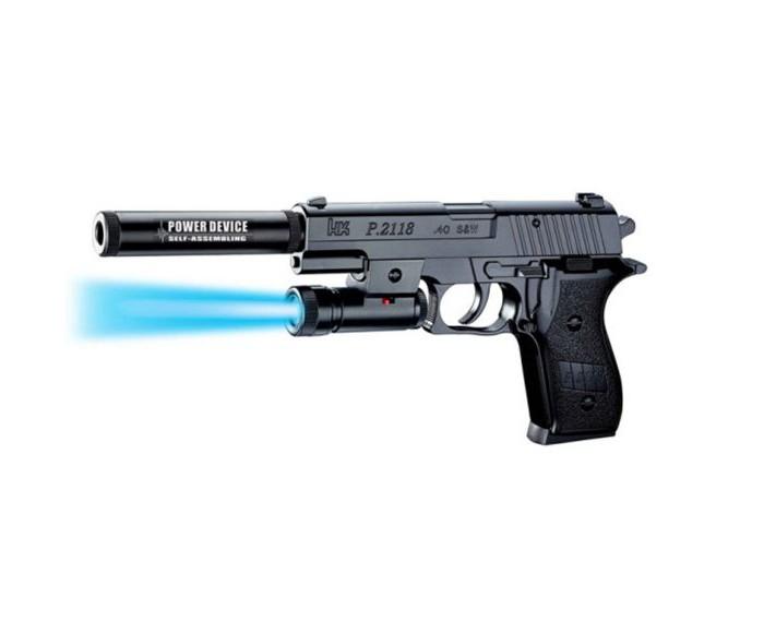 Игрушечное оружие Наша Игрушка Пистолет механический B00115 пистолет механический в