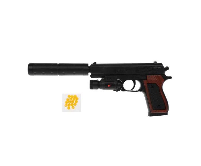 Игрушечное оружие Наша Игрушка Пистолет механический 100000268 пистолет механический в