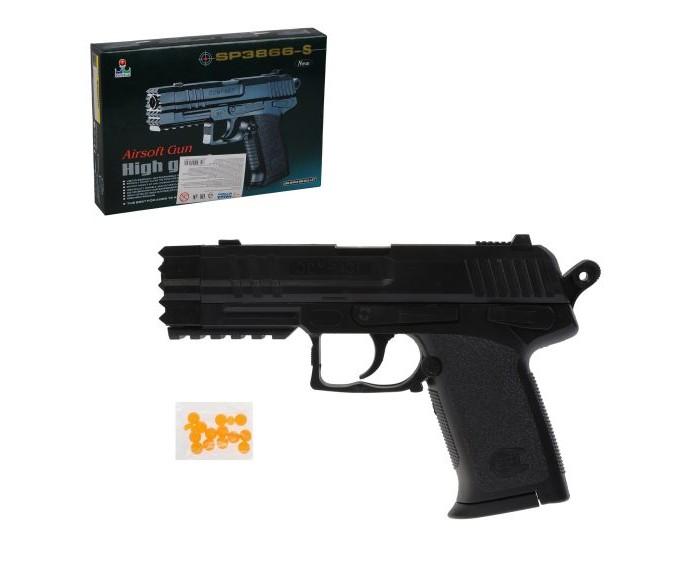 Игрушечное оружие Наша Игрушка Пистолет механический B00132 пистолет механический в