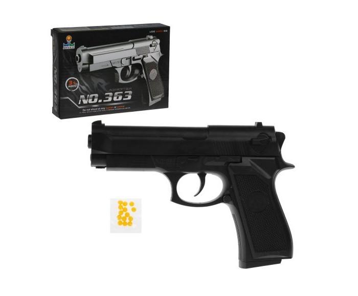Игрушечное оружие Наша Игрушка Пистолет механический B02071 пистолет механический в