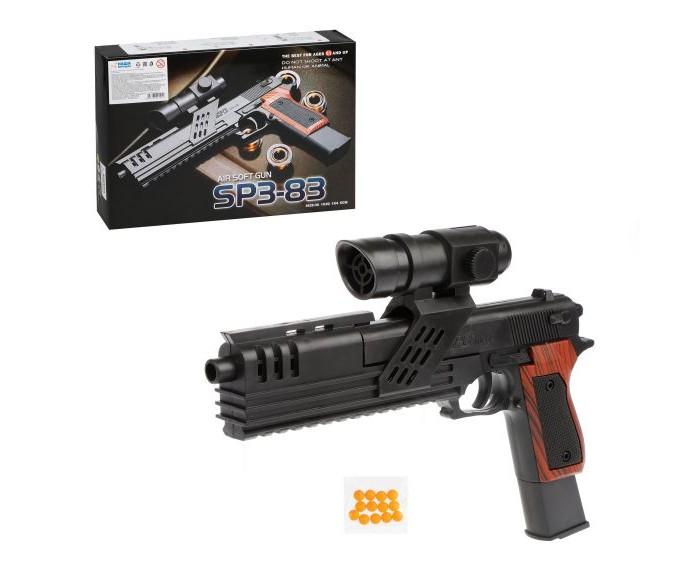 Игрушечное оружие Наша Игрушка Пистолет механический B00071 пистолет механический в
