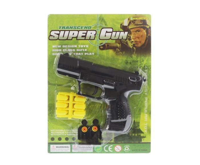 Игрушечное оружие Наша Игрушка Пистолет механический 100002169 пистолет механический в