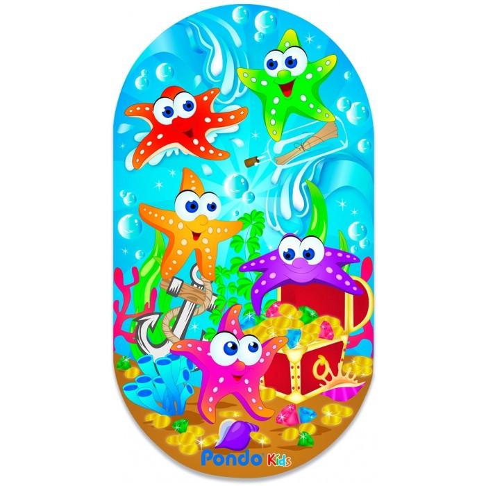 Коврик Pondo Kids для ванны Морские Звёздочки 69х39 см