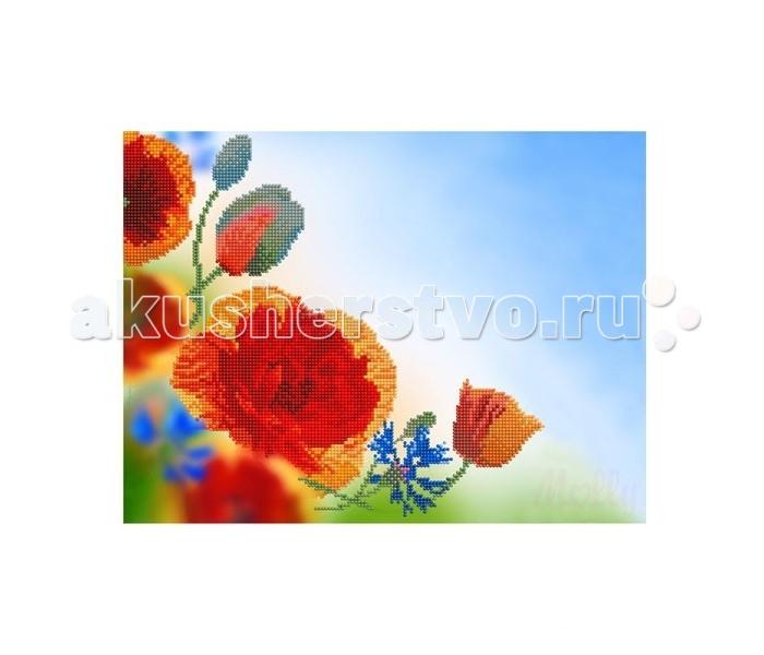 Картины своими руками Molly Мозаичная картина Летние цветы 30х40 см