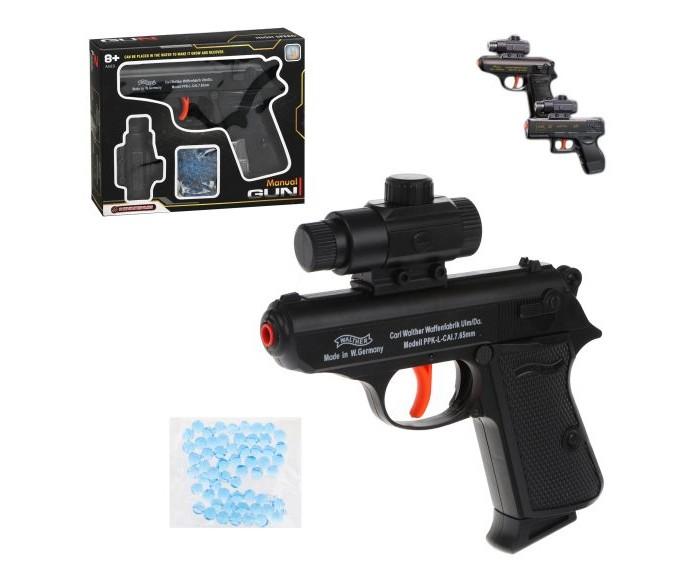 Игрушечное оружие Наша Игрушка Пистолет механический 100001590 пистолет механический в