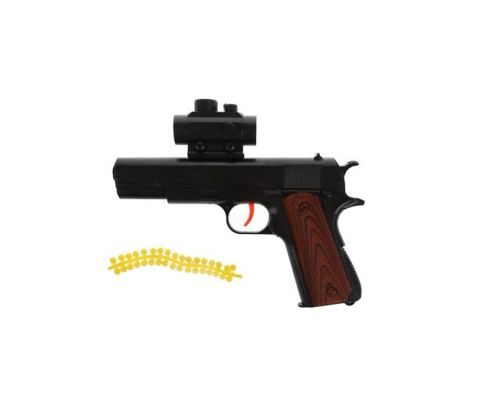 Игрушечное оружие Наша Игрушка Пистолет механический 100001646 пистолет механический в