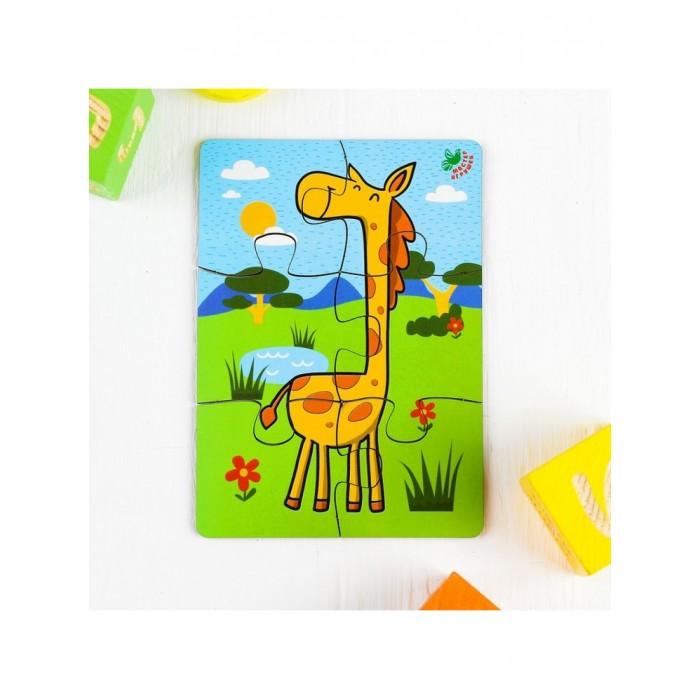 Фото - Деревянные игрушки Фабрика Мастер игрушек Пазл Жираф IG0063 деревянные игрушки фабрика мастер игрушек пазл жираф ig0063