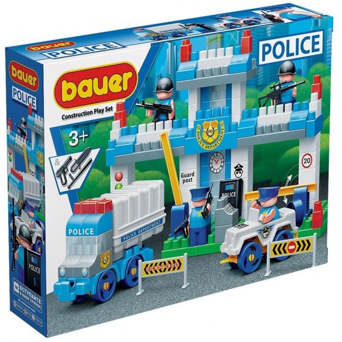 Купить Конструкторы, Конструктор Bauer Полиция Полицейский участок (127 элементов)