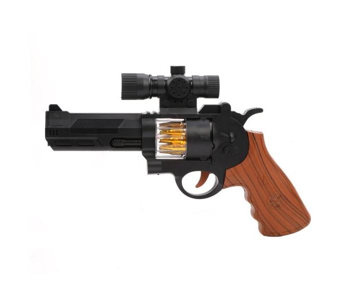 Игрушечное оружие Наша Игрушка Пистолет электрифицированный 818C-1