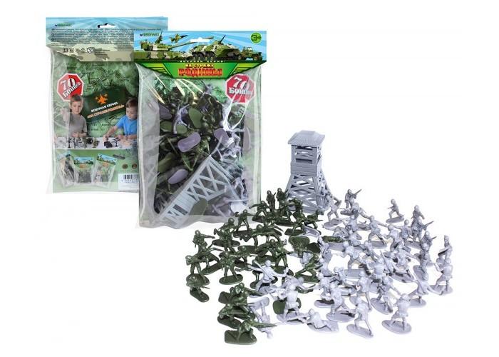 Картинка для Игровые фигурки Биплант Игровой набор Рота солдат